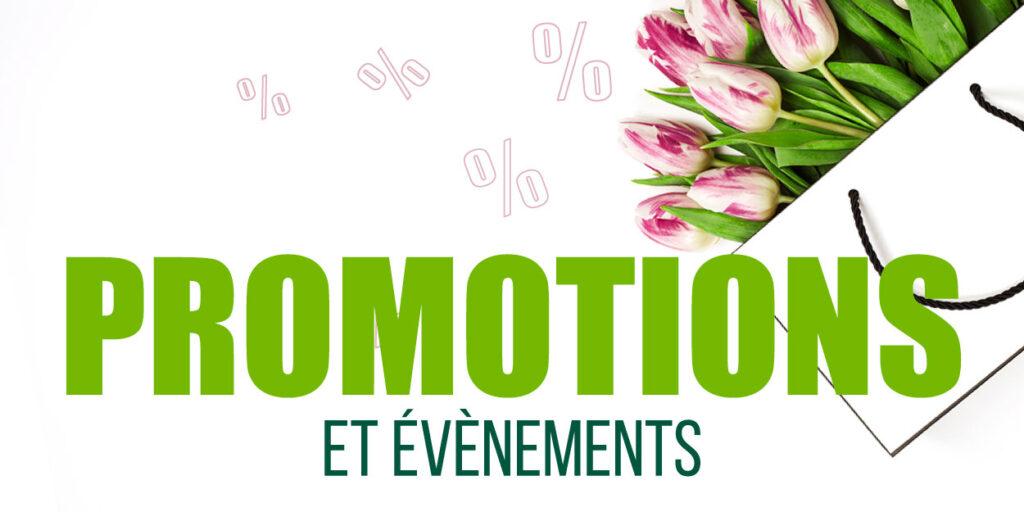 Promotions et événements